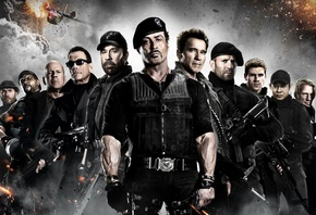 the expendables 2, ����������� 2, ������, �����, ���������, �����, �������, ����