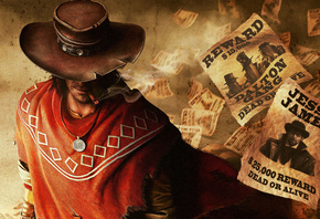 Call of Juarez: The Gunslinger, ������, cowboy, ������, �����, ��������, �������, ����������
