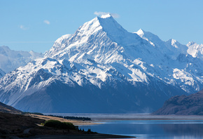 New Zealand, Mount Cook, Aoraki National Park, ����, ����, �����