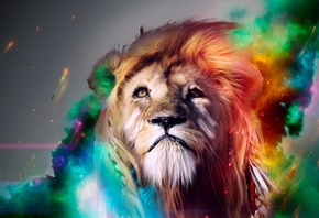 Lion Abstract, ���, ����������, �������