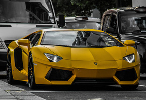 Lamborghini, Aventador, LP640 yellow, sport, car, sport cars, super car, ����������, ���������, ������, �����, ������