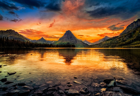 ���, Two Medicine Lake, Glacier National Park, ���, ����, �����, �����, �������, ����, ������, �����