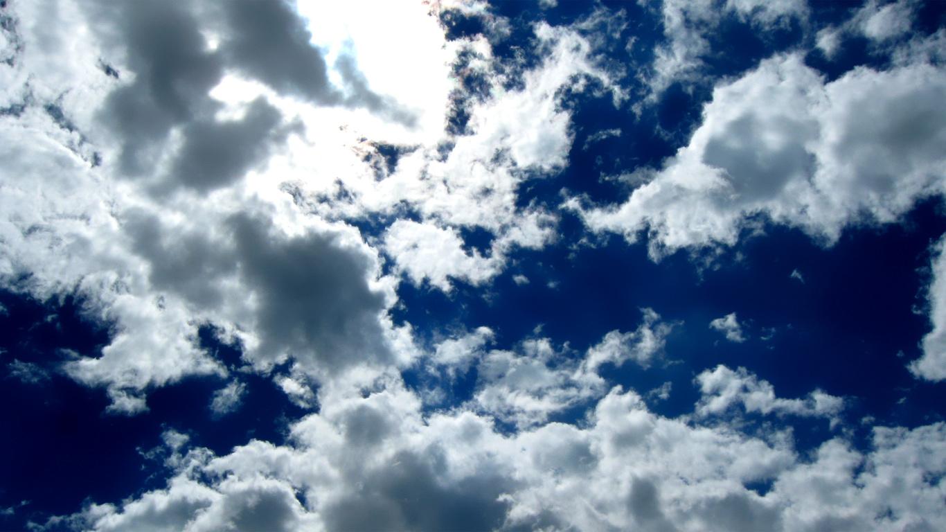Небо облака синева