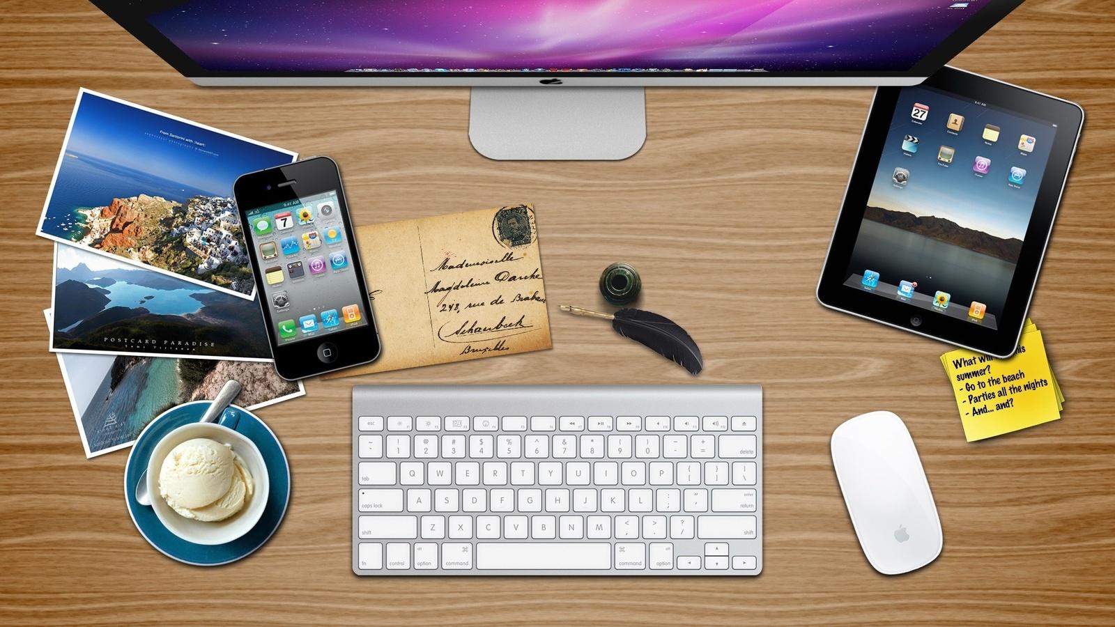 Обои для рабочего стола обои apple ipad
