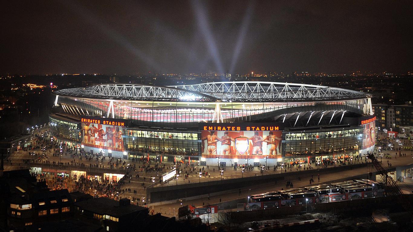 Обои для рабочего стола обои emirates stadium