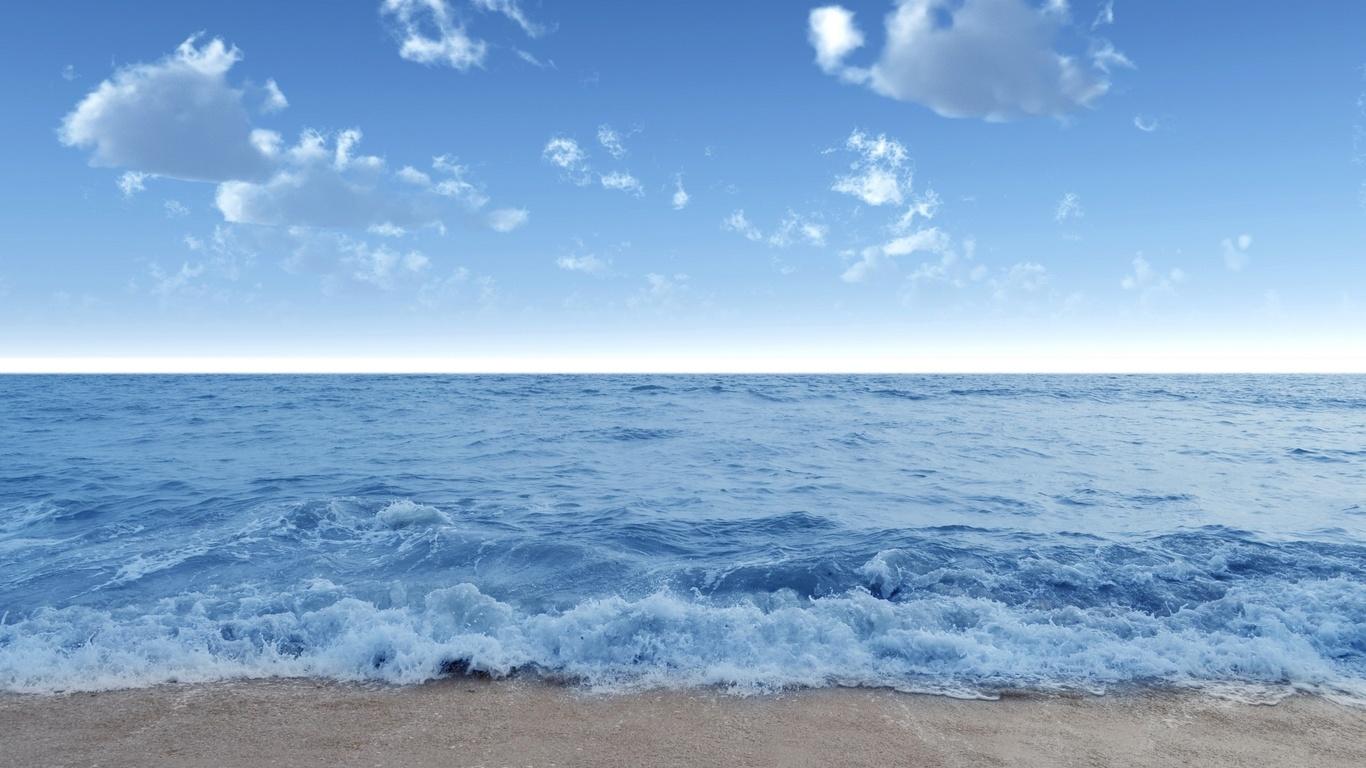 Hd bakgrundsbilder hav våg vatten kust strand sand himmel