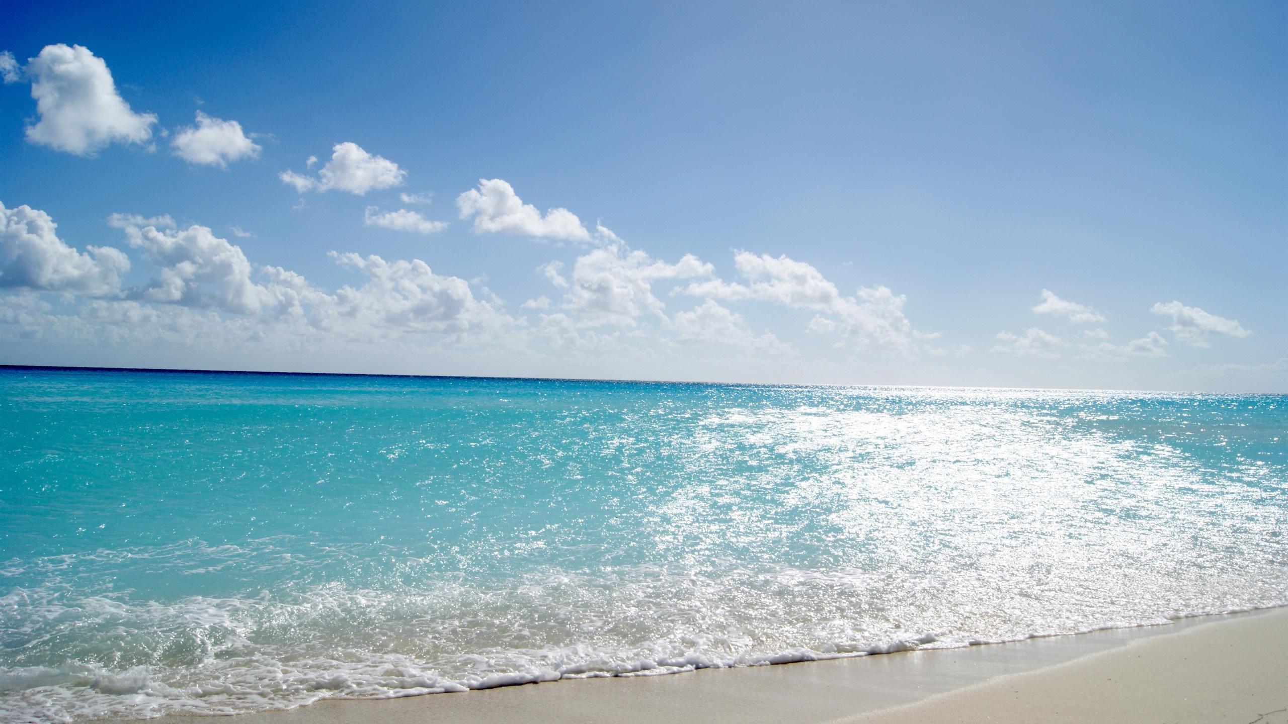 Hd tapeta moře voda modrá světle léto pláž teplý písek