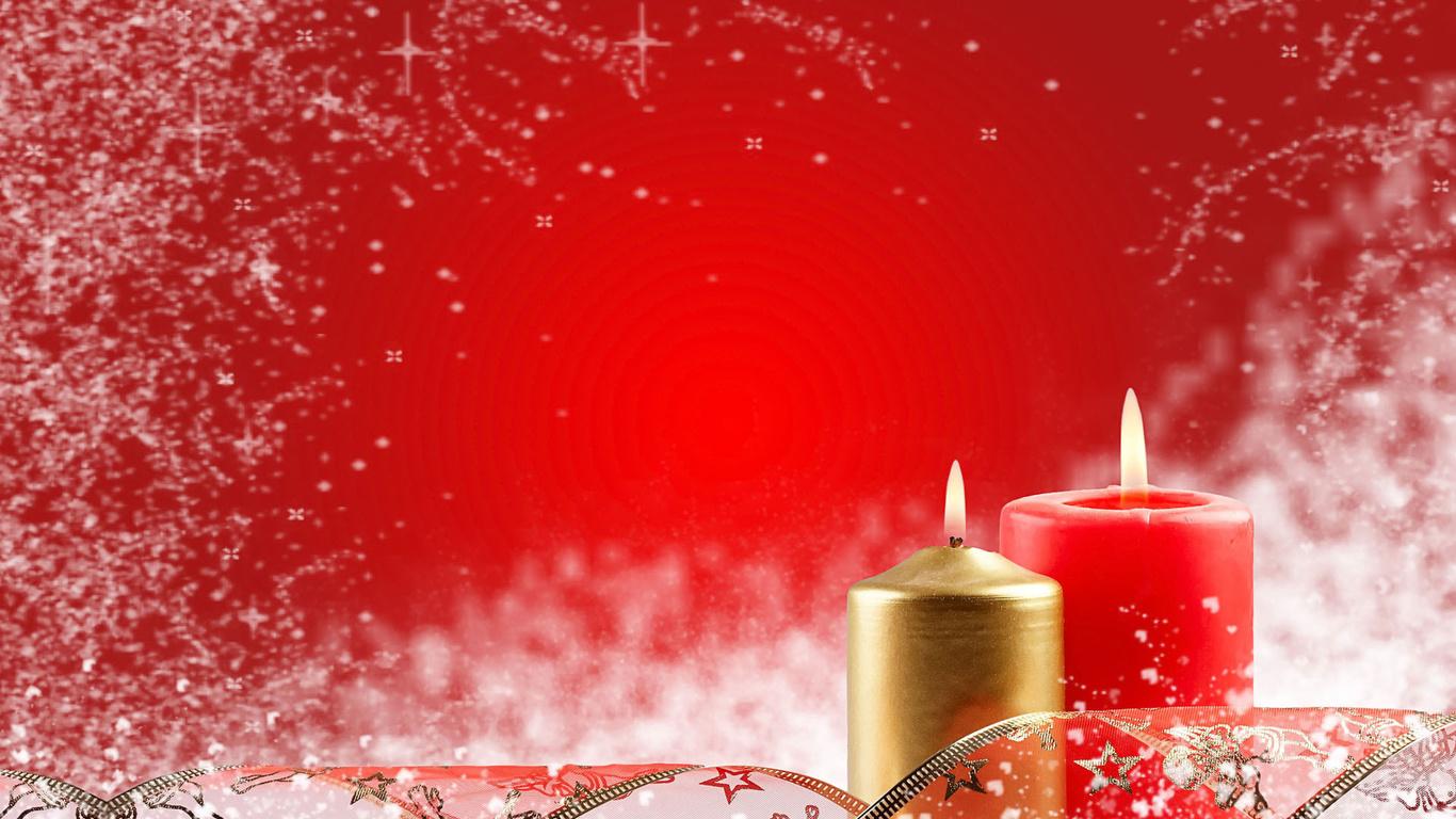 Hd шпалери свічки червоний новий рік