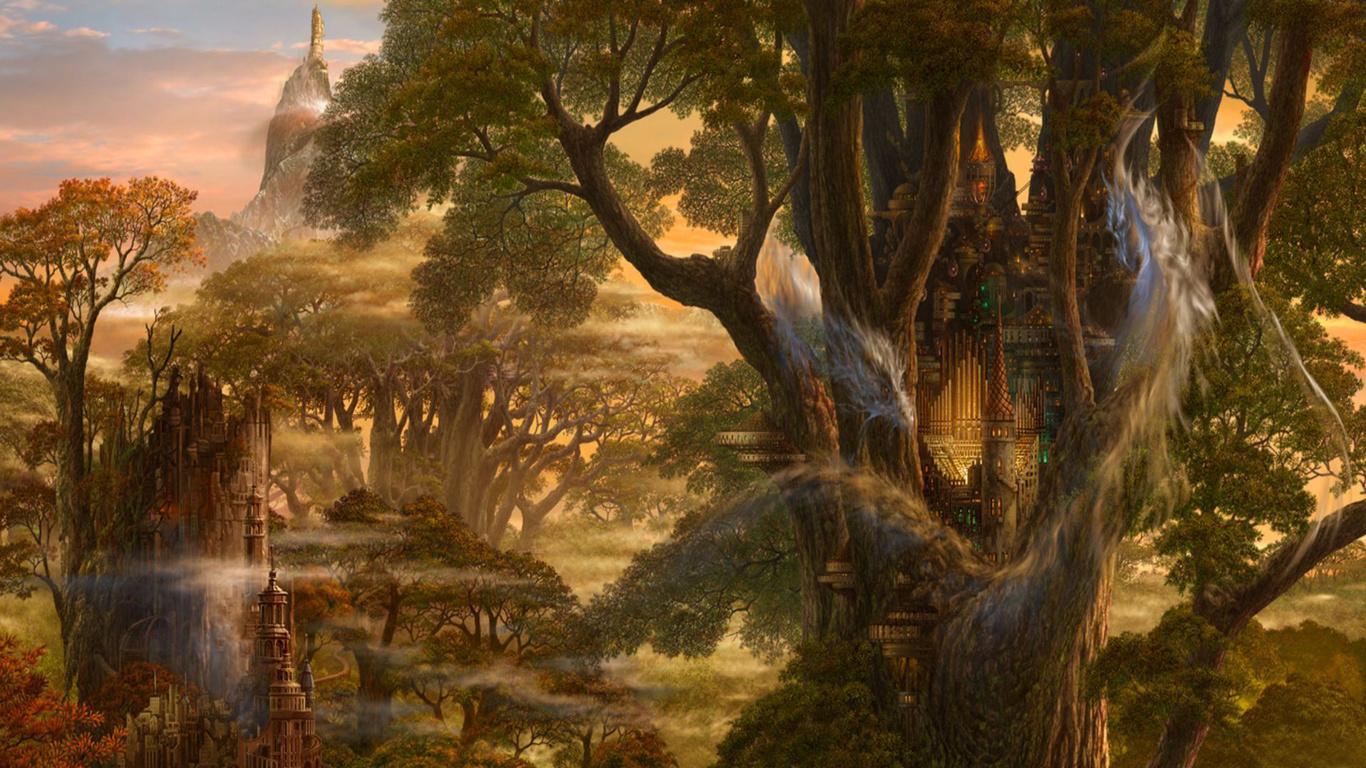 Фантазия и природа картинки