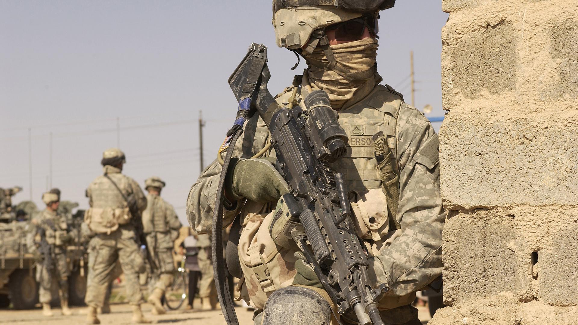 Армия война американец солдат