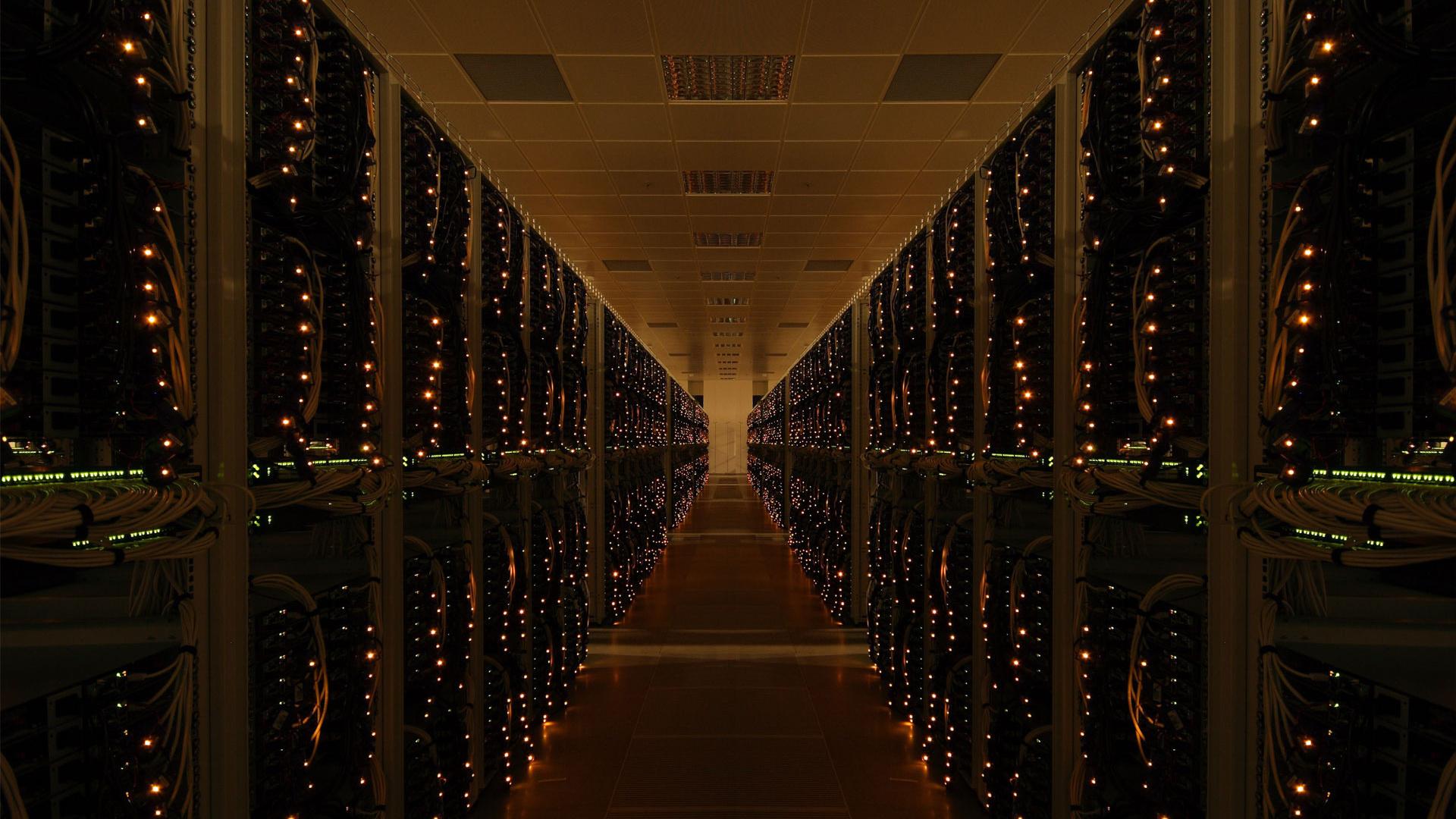 Обои дата центр технологии сервера