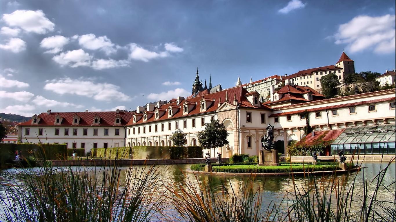 Прага Чехия обои для рабочего стола картинки городов на