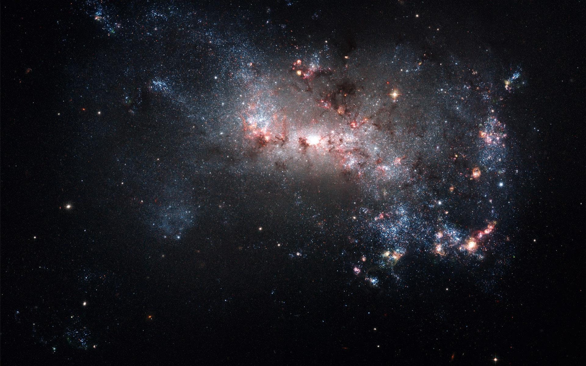 Космос звезды созвездие скопление