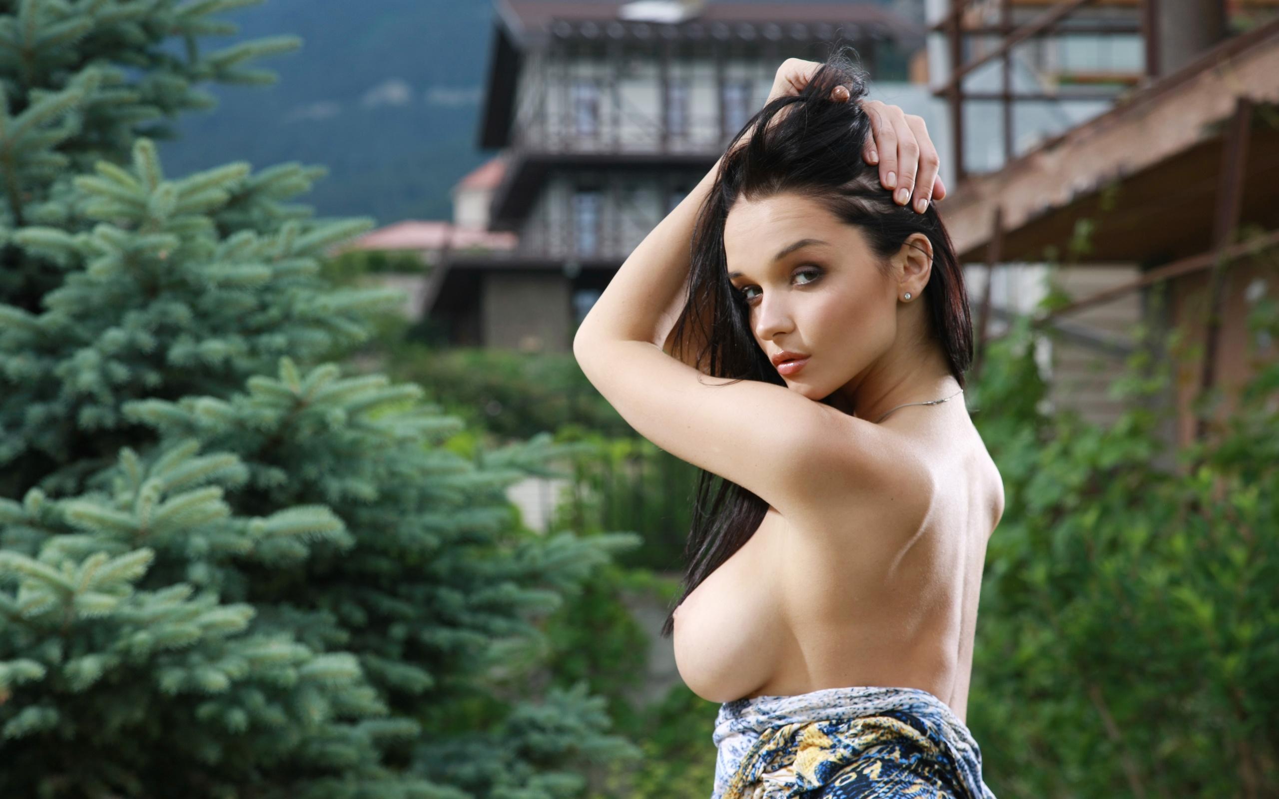Худые девушки фото с большой грудью 2 фотография