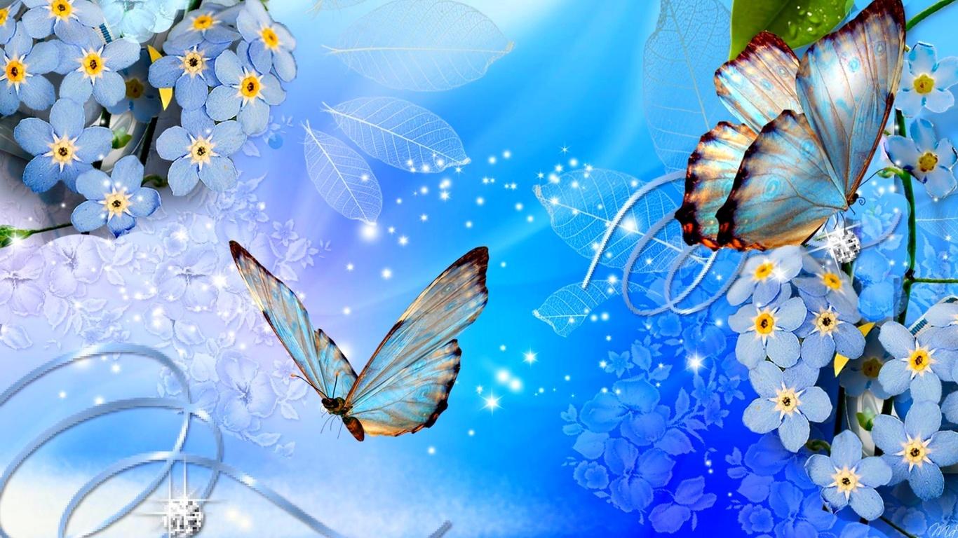 Картинки открытки с бабочками 6