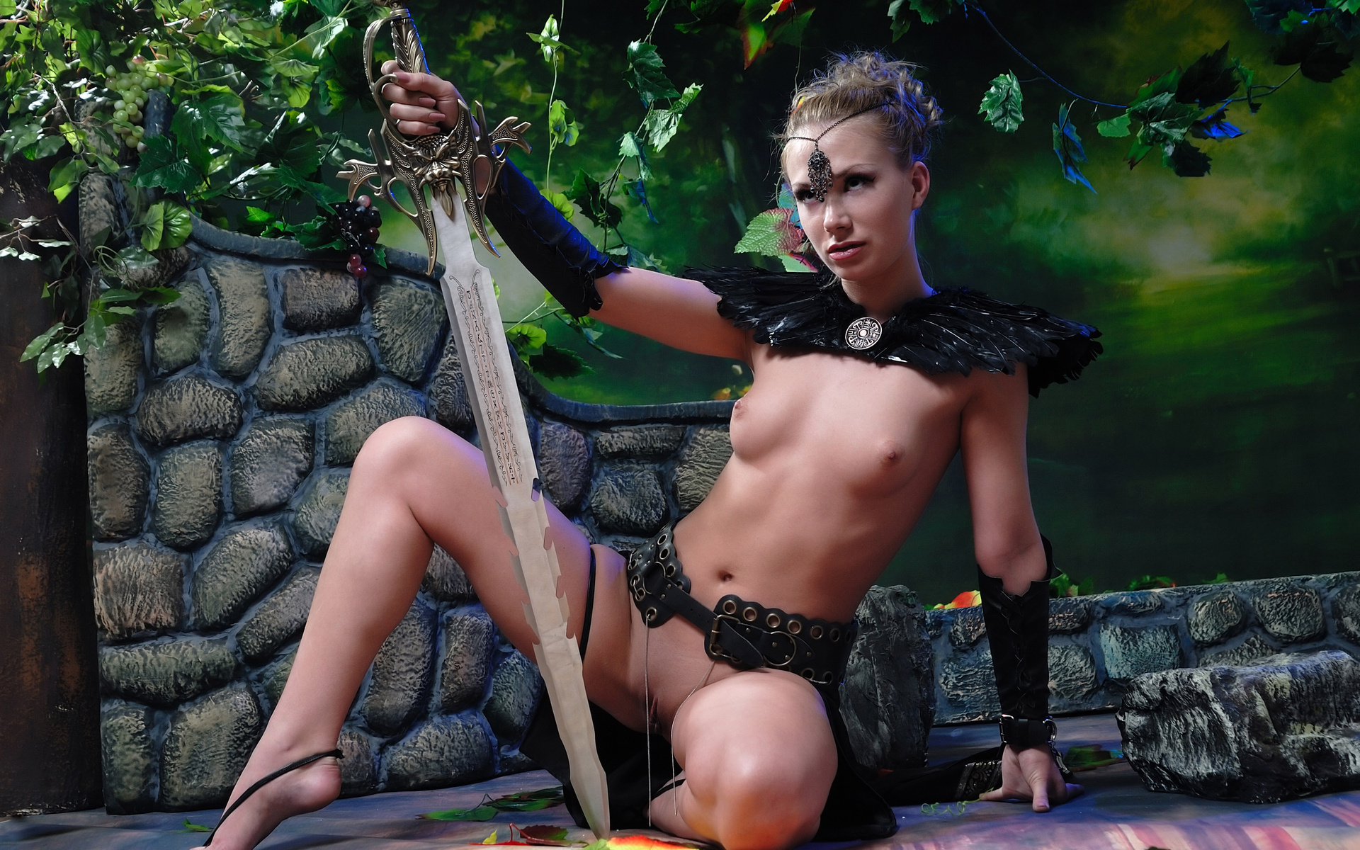 Female amazon slayer porn porn gallery