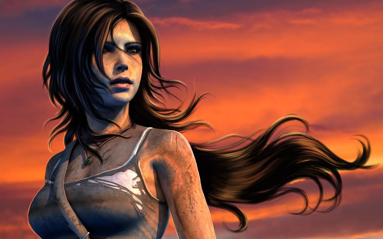 Lara croft hair anime pretty wives