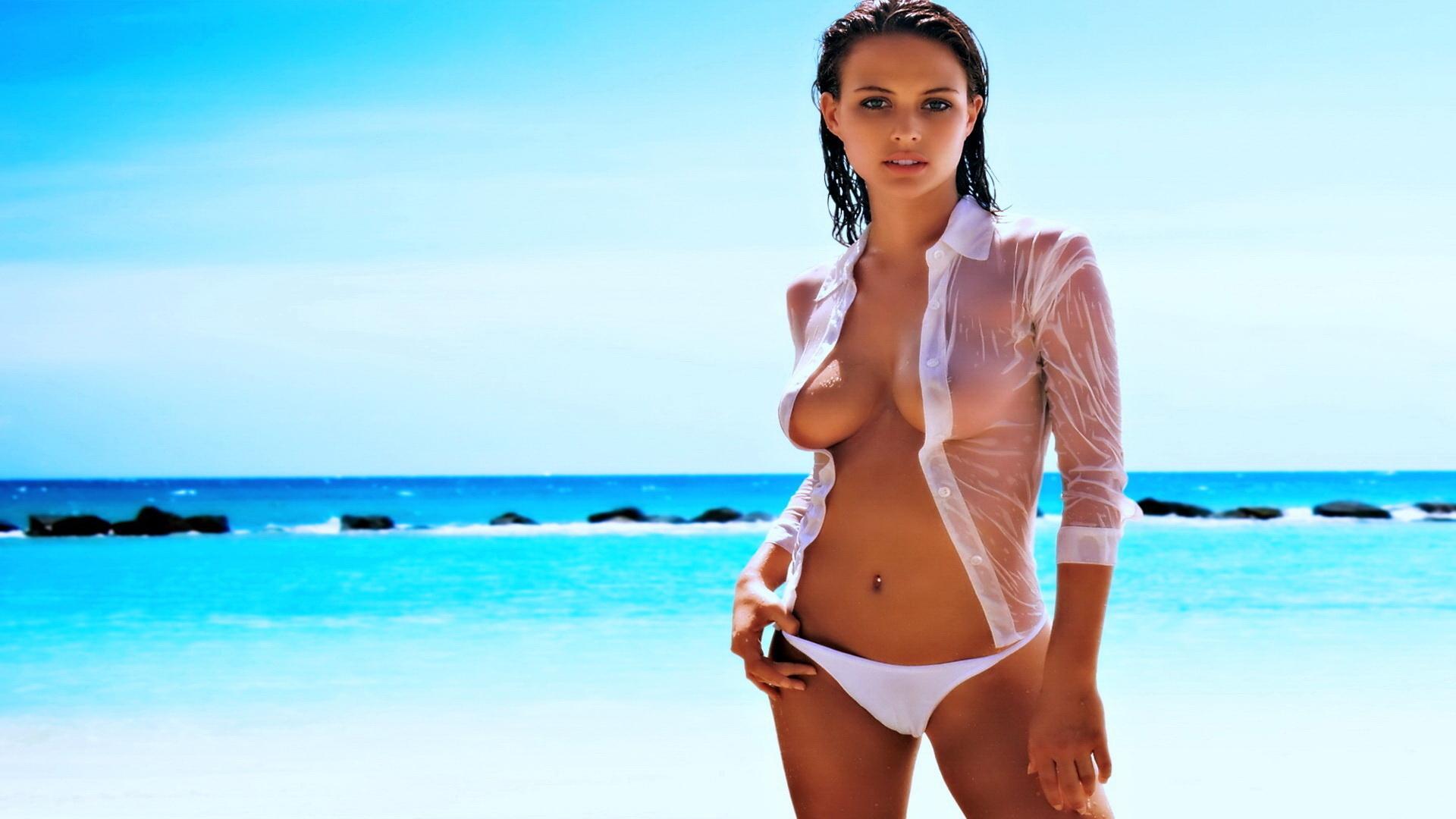 Пышные женщины европы напляже 6 фотография