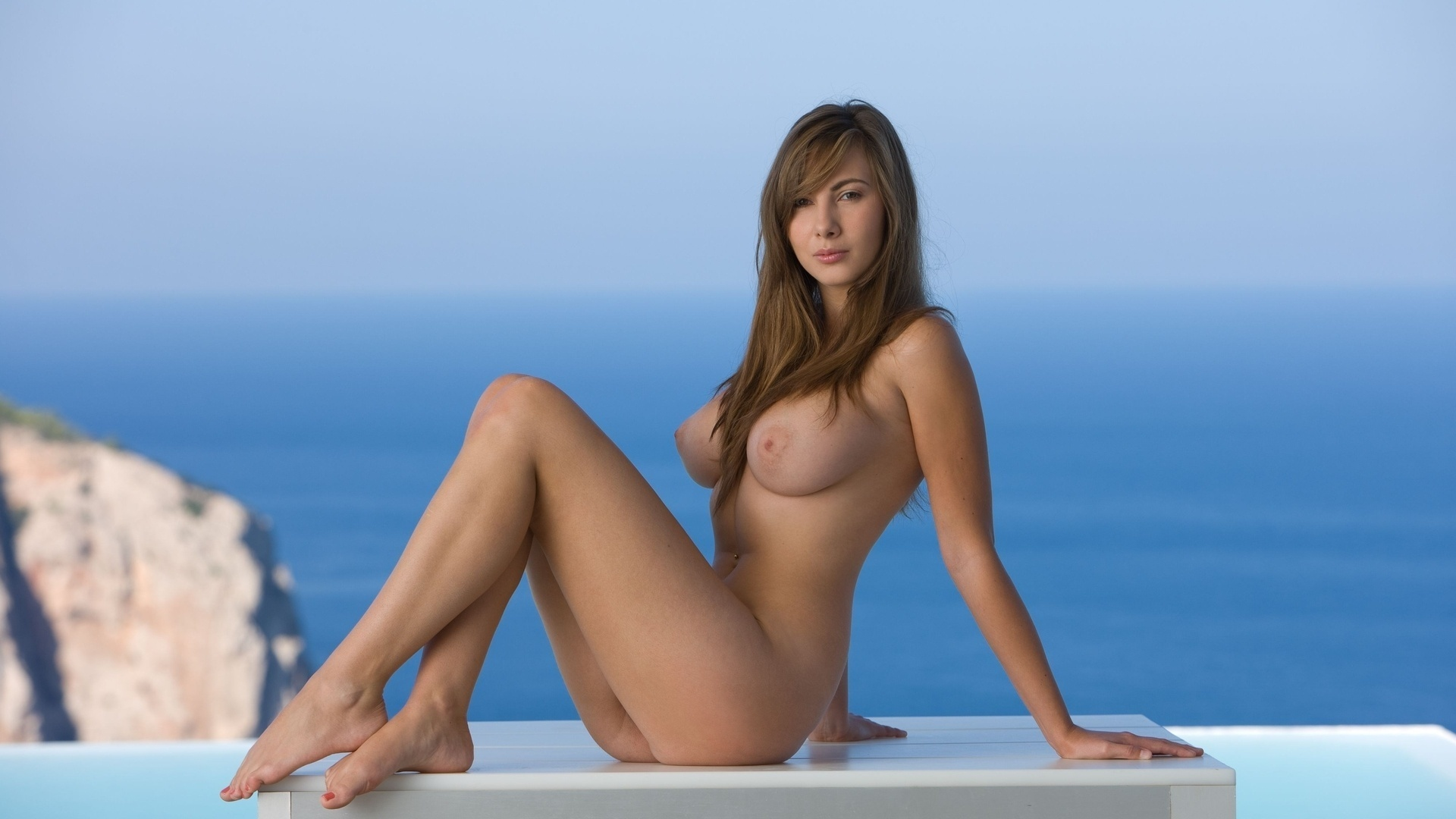 Эротические девушки hd море 8 фотография