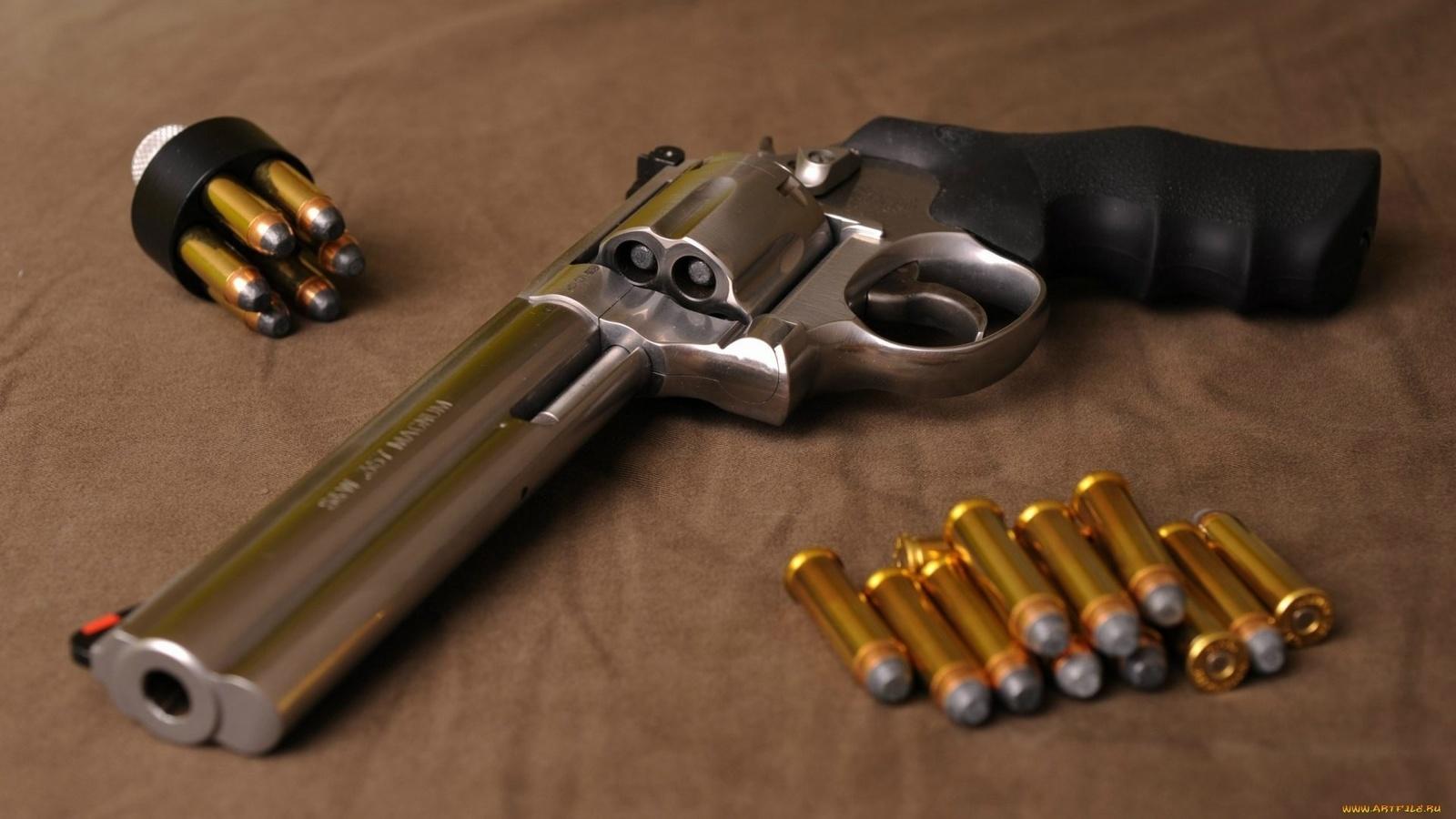 Как выглядит револьвер