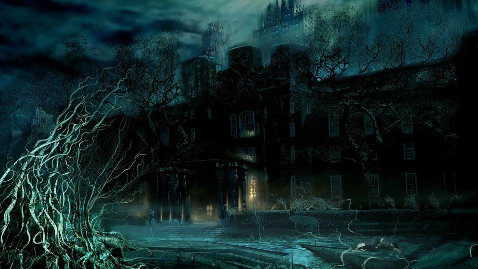 Луна ужас мистика вампиры оборотни