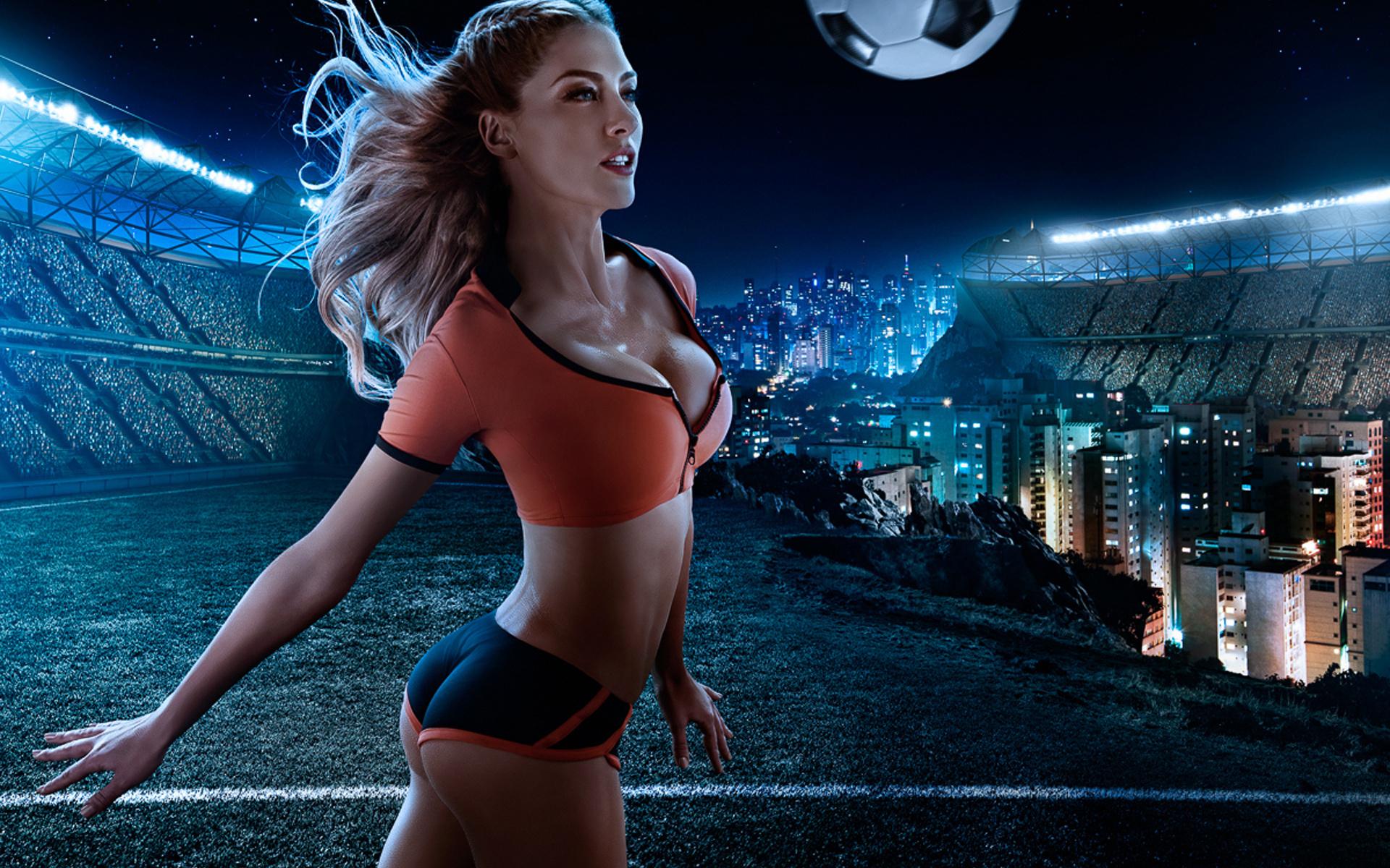 Фигура женщин футболисток 20 фотография