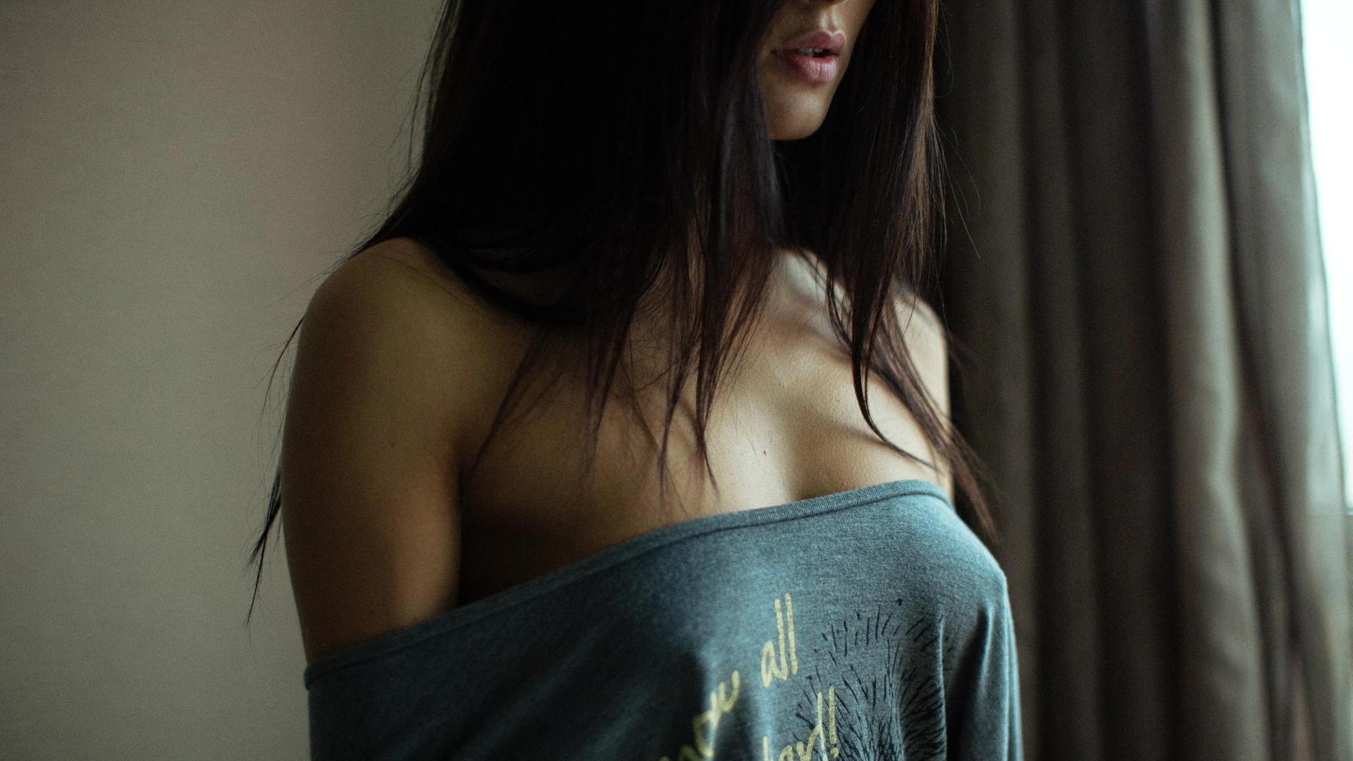 Секси темноволосые девушки на аву 4 фотография