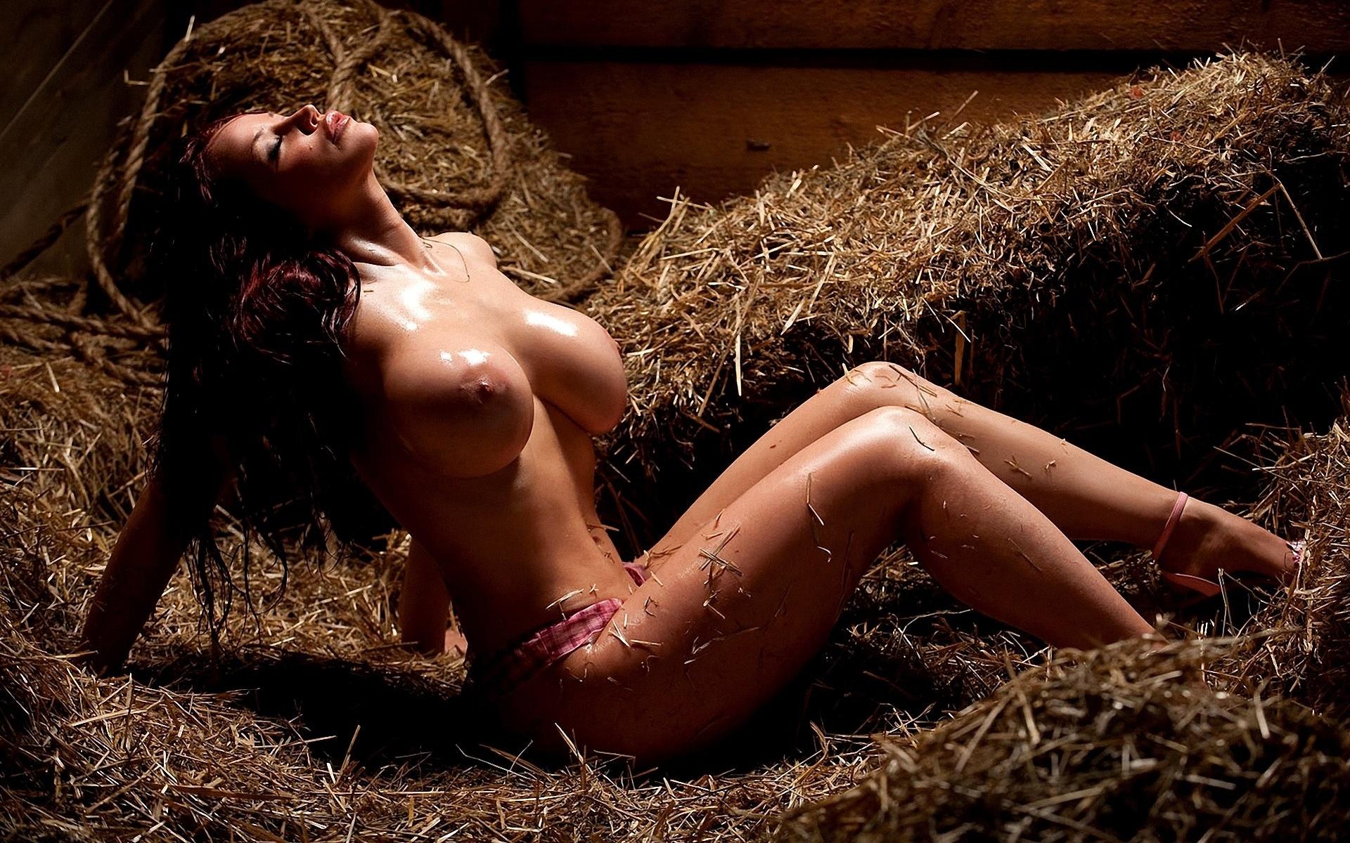 Секс на соломе смотреть онлайн 8 фотография