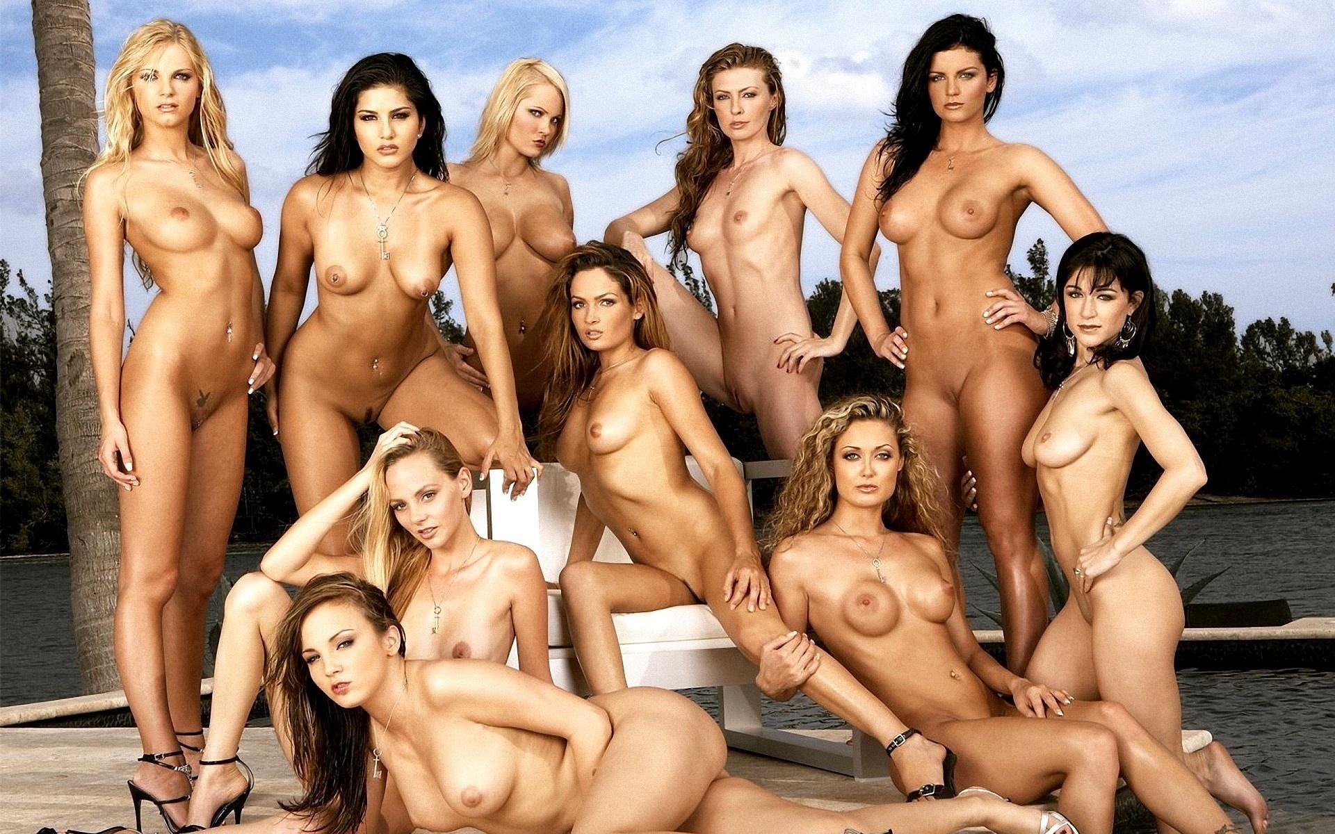 Телки с мужиками голые 9 фотография