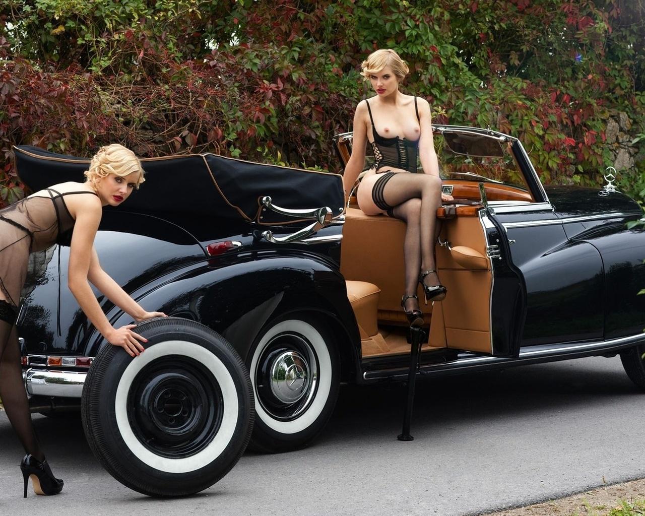 Фото модели голые и авто 24 фотография