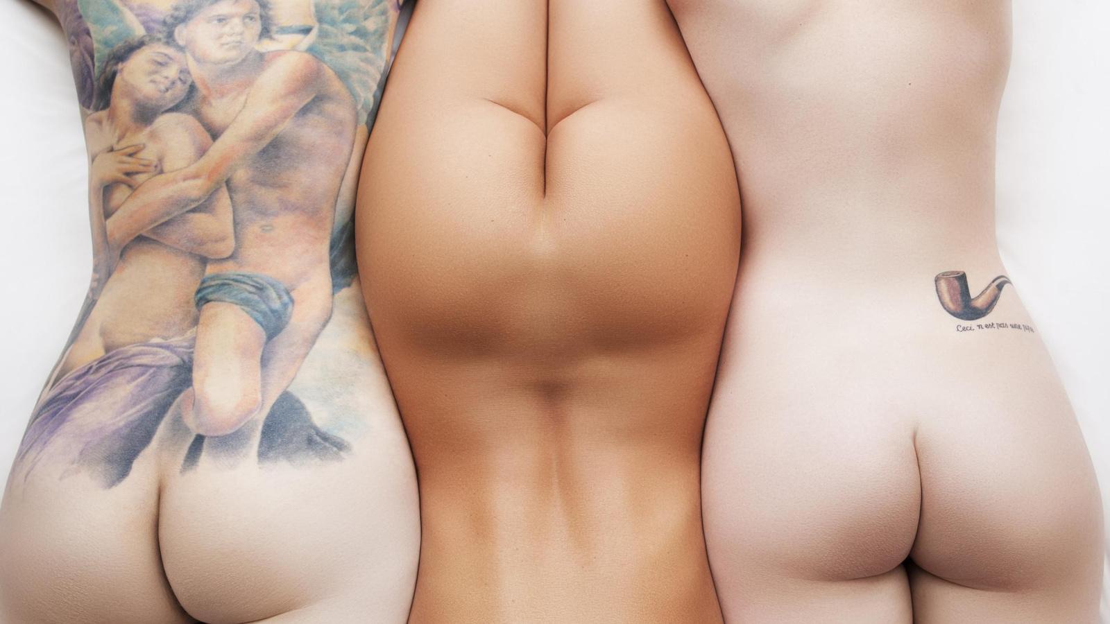 Тату девушки из голые и смешные 13 фотография