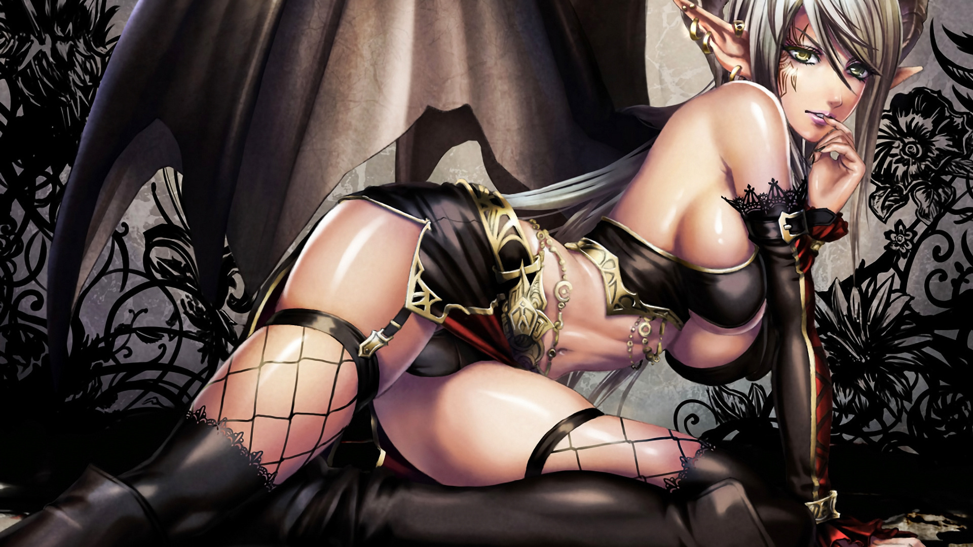 Sexy succubus slave girls adult pic
