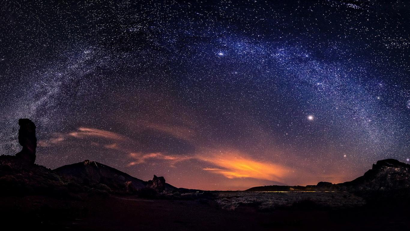 Звезды ночь красота