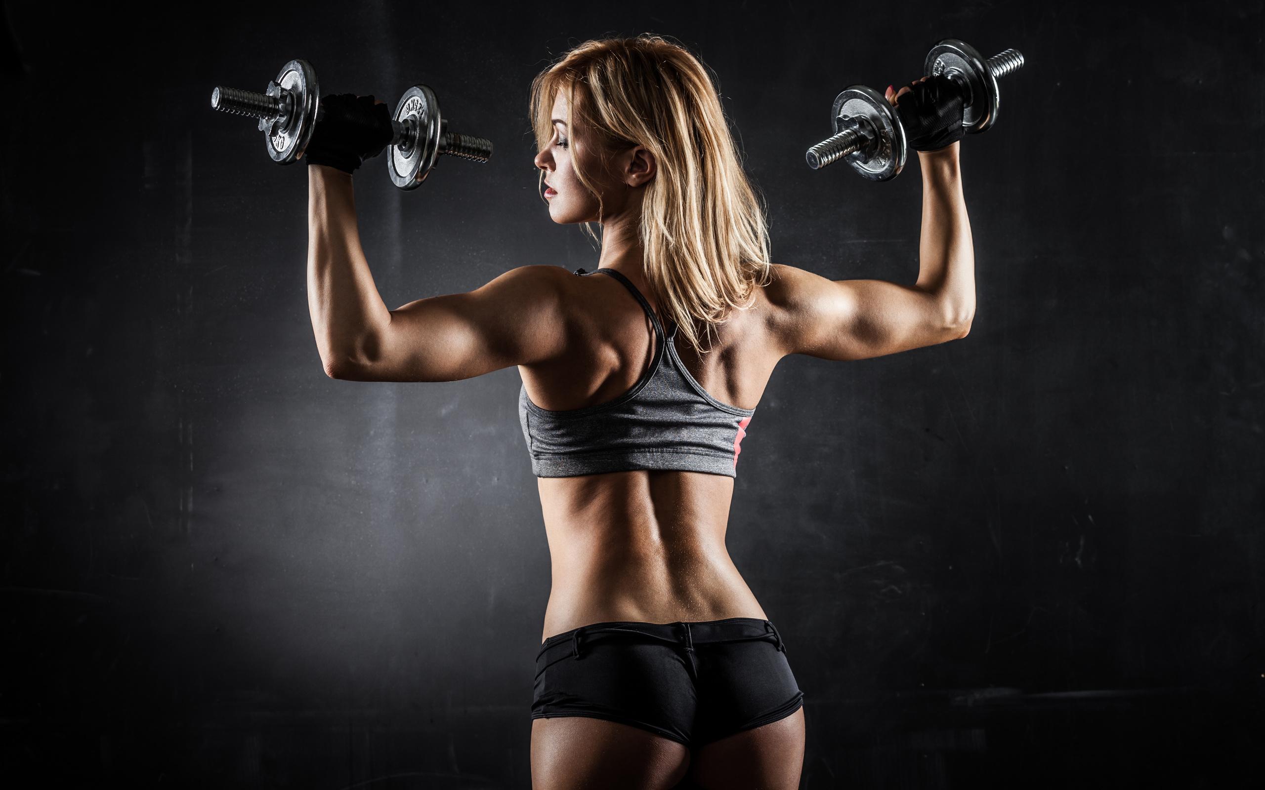 Фото девушки бодибилдинг фитнес 15 фотография