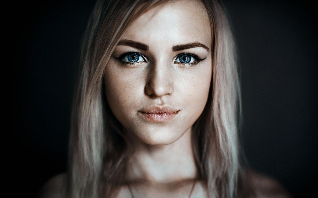 Осень блондинка