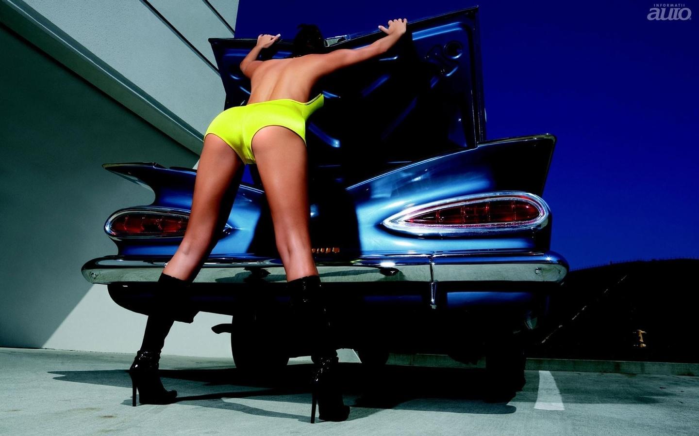 Супер девушки и машины