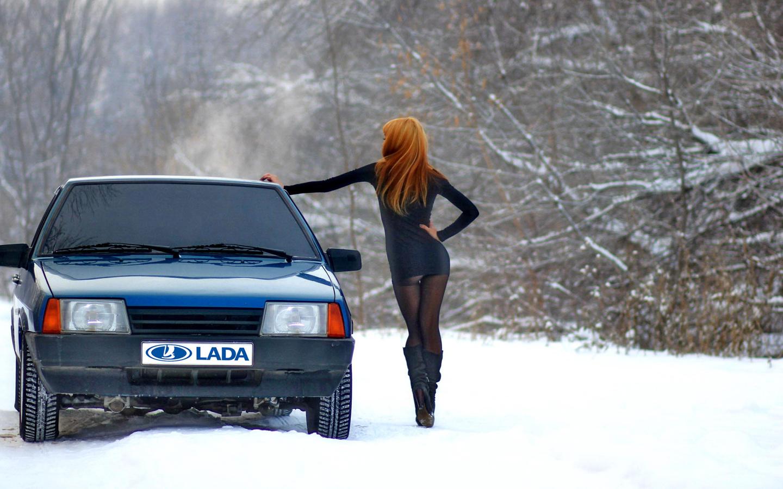 Красивые фотки зимой с машиной фото 451-727