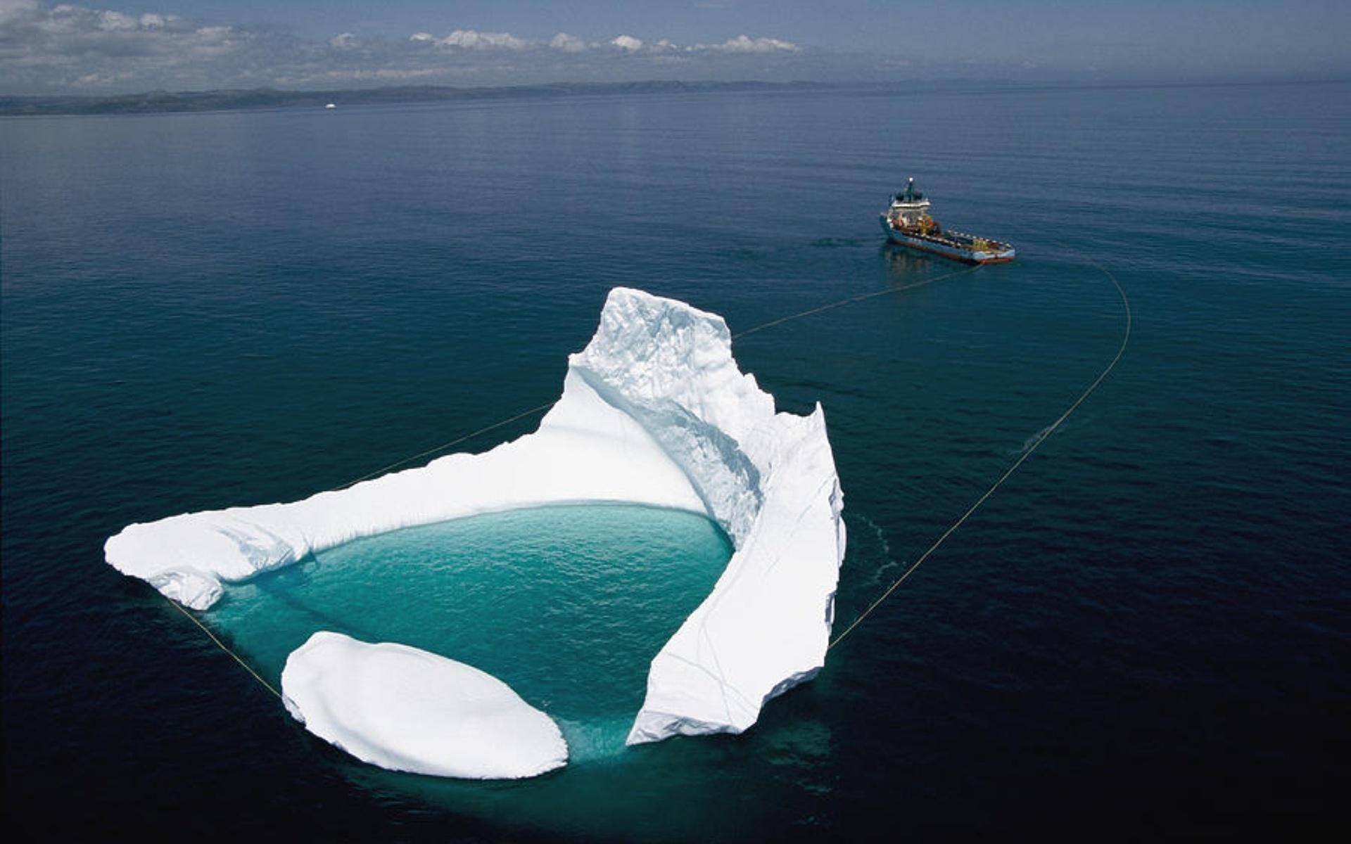 ловля айсбергов