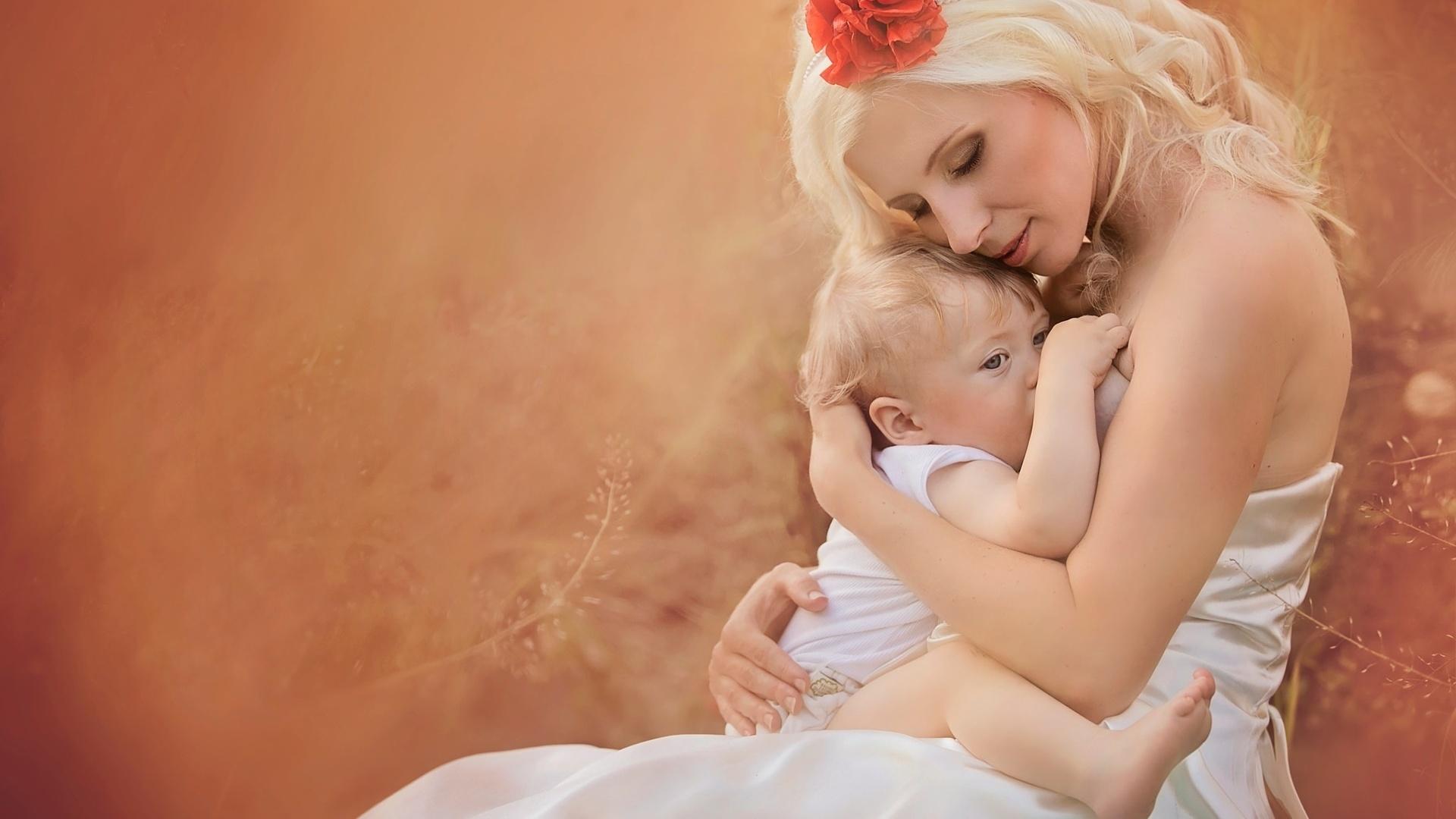 Женщина с ребенком красивые фото